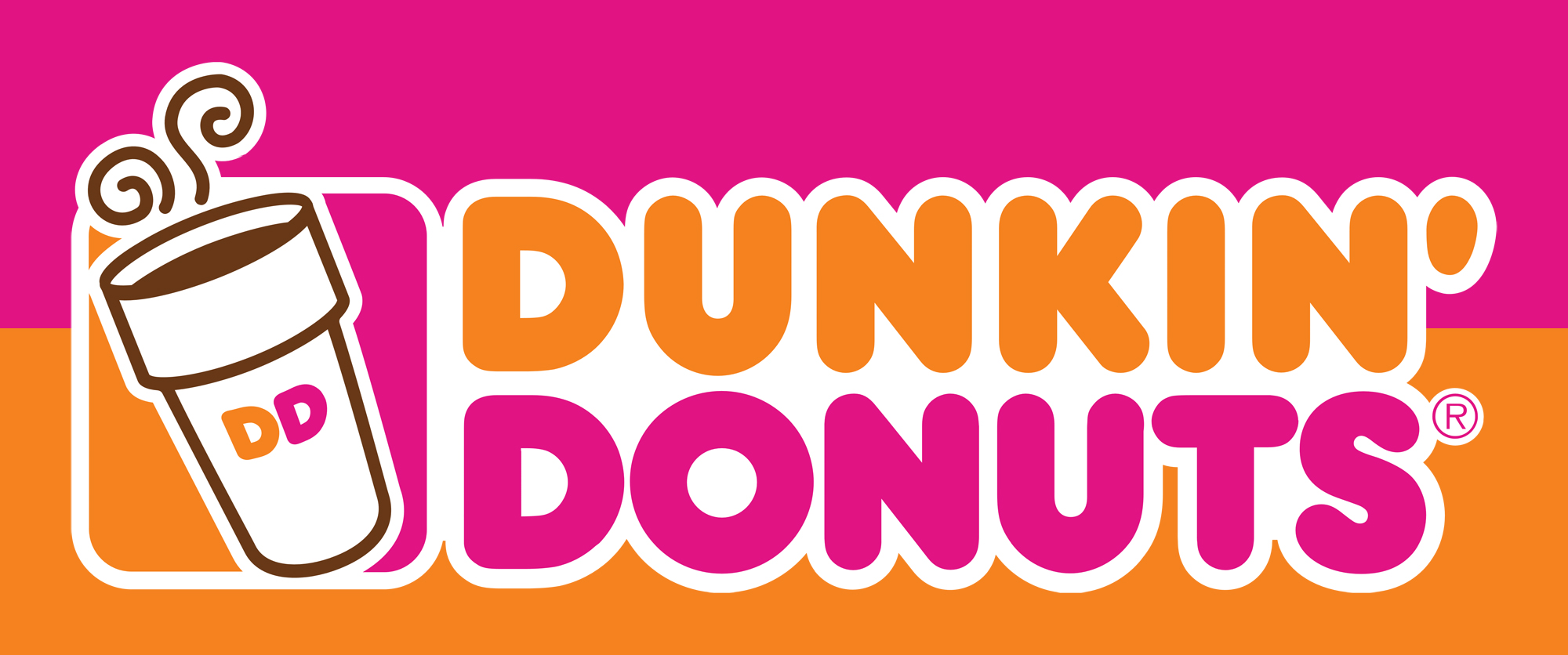 Meaning Dunkin Donuts logo and symbol.