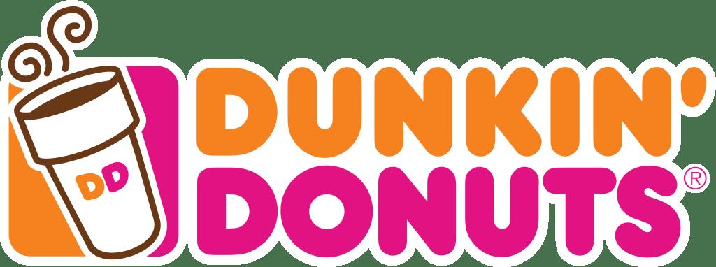 Dunkin' Donuts Logo transparent PNG.