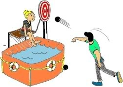 Clipart dunking booth » Clipart Portal.