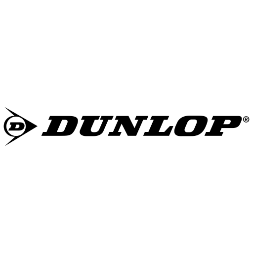 Dunlop Logo Icon of Flat style.