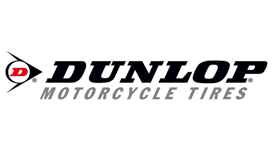 Dunlop Motorcycle Tires Vector Logo.