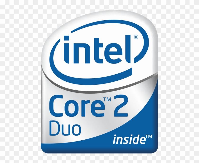 Logo Intel Core 2 Duo.