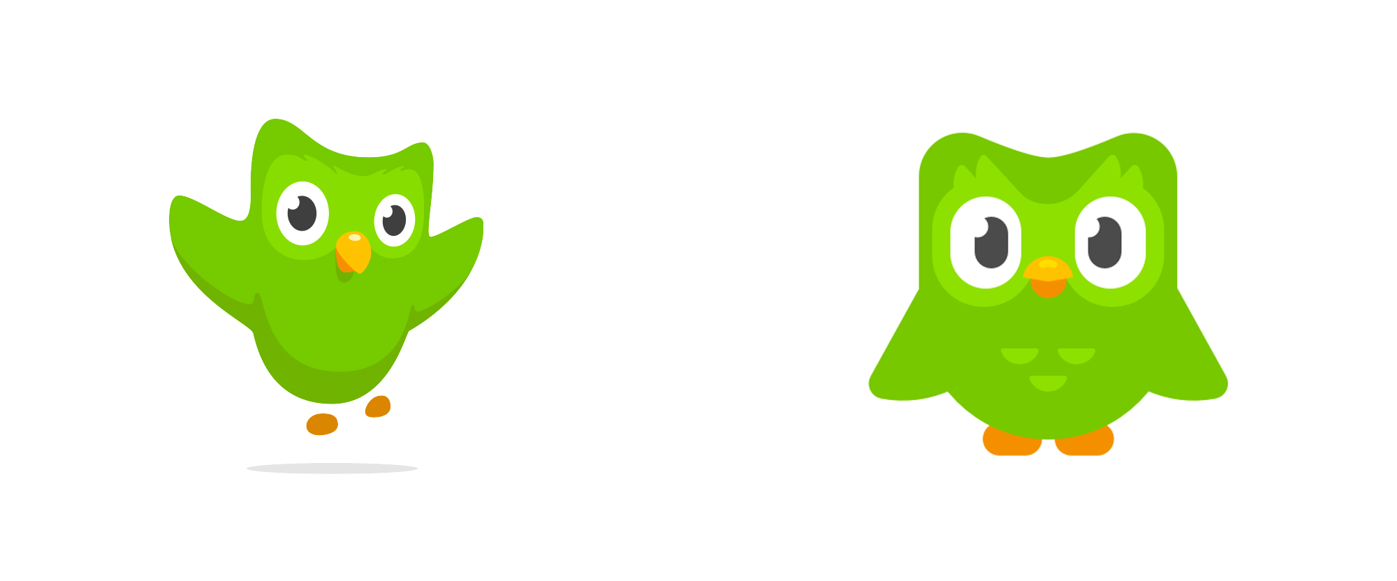 Brand New: New Logo for Duolingo done In.