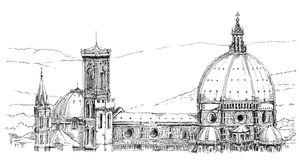 Duomo Stock Illustrations.