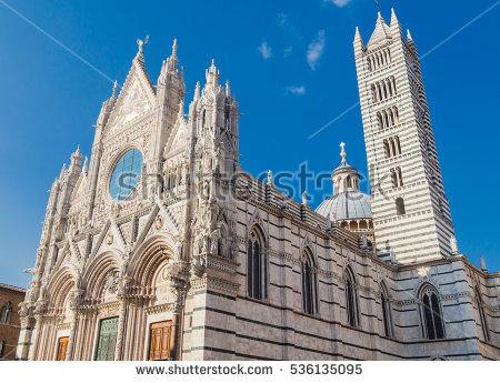 Siena Duomo Stock Photos, Royalty.