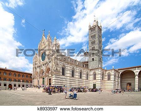 Picture of Duomo di Siena, Italy k8933597.