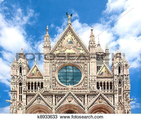 Stock Photo of Duomo di Siena, Italy k8933633.