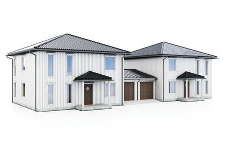 110 Duplex House Stock Illustrations, Cliparts And Royalty Free.