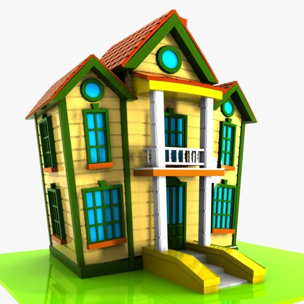 Showing post & media for Cartoon duplex house.