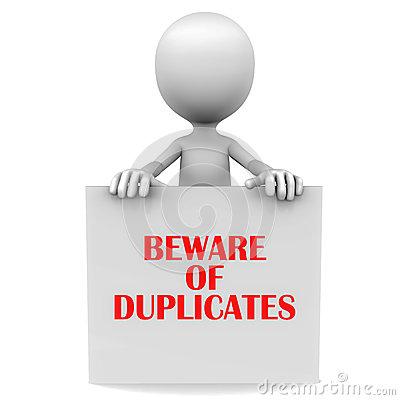 Duplicate Clip Art.