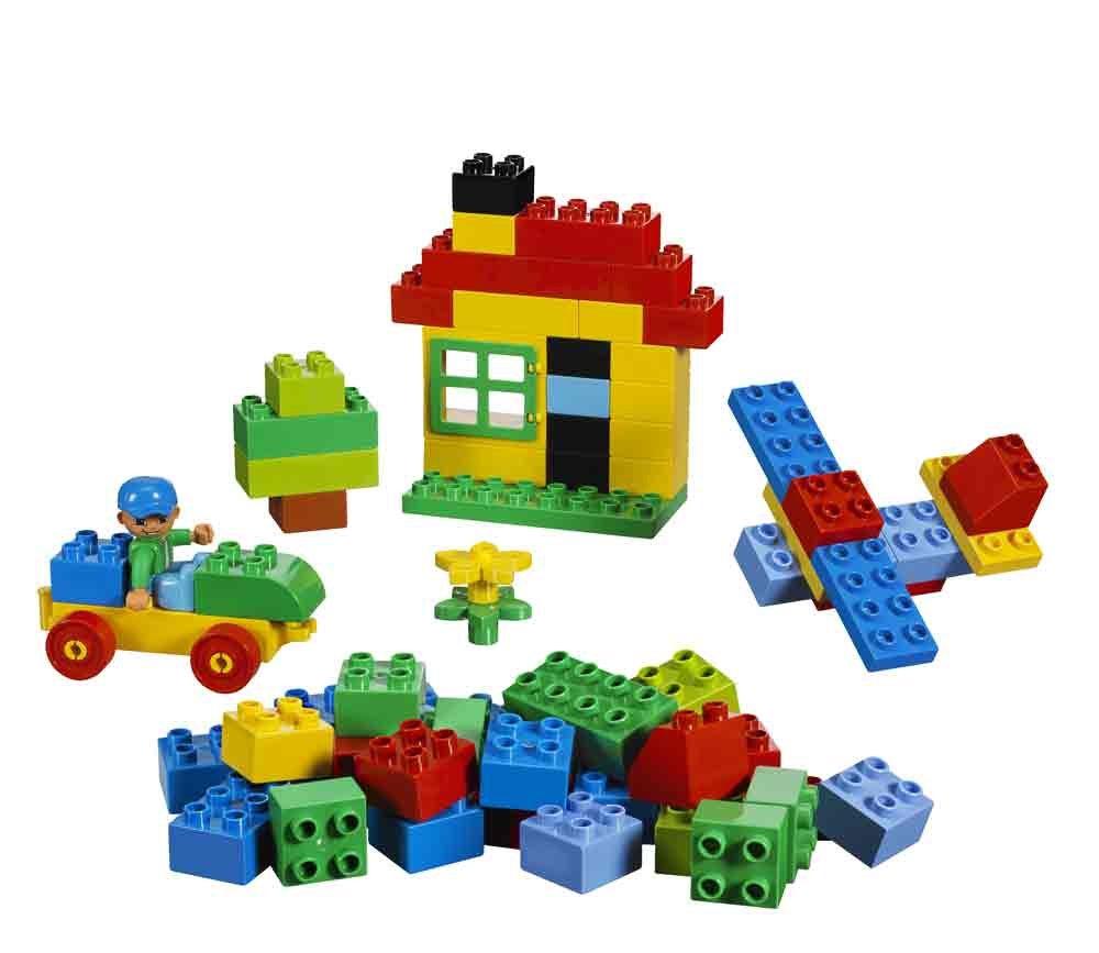 Amazon Com Lego Duplo Building Set 71 Pieces 5506 Toys Games.