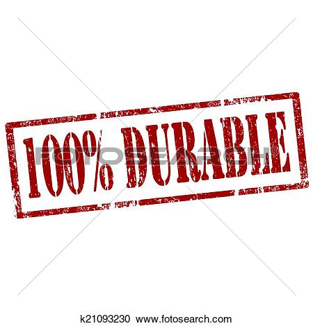 Clipart of Durable.