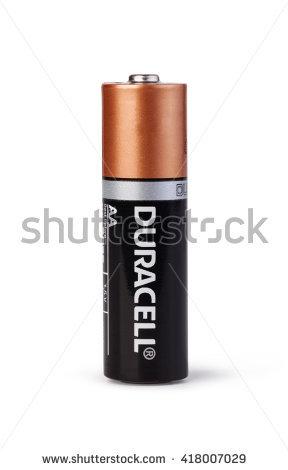 Vector Duracell Battery.