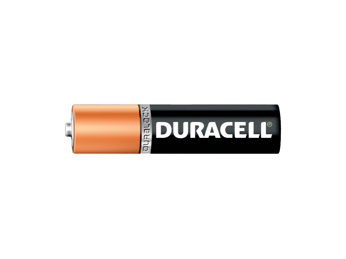 Duracell AA Battery transparent PNG.