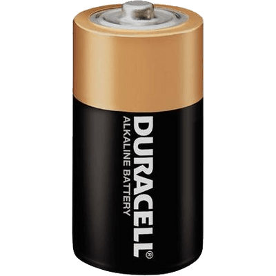 Duracell Battery transparent PNG.