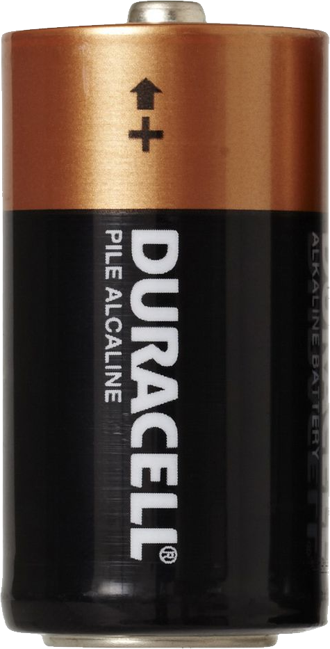 Battery Duracell PNG.