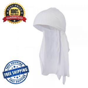 Details about Best White Silk Durag.