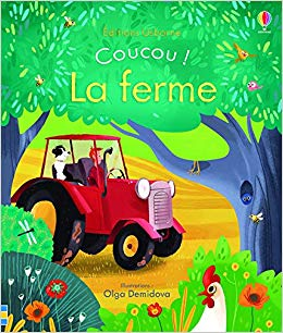 Coucou ! La ferme: Amazon.co.uk: Anna Milbourne, Olga.