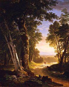 Paintings Reproductions Koekkoek, Barend Cornelis Landscape.