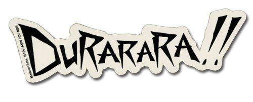 Durarara!! Logo Sticker GE.