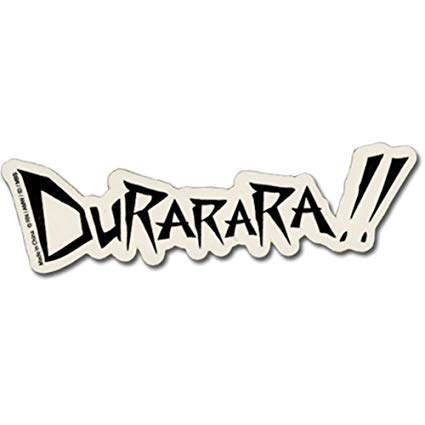 Durarara!! Logo Sticker by GE Animation.