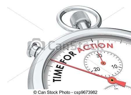 Clip Art of Time for Action. Stopwatch Edition. csp9673982.