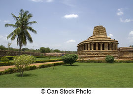 Stock Photo of Durga temple.