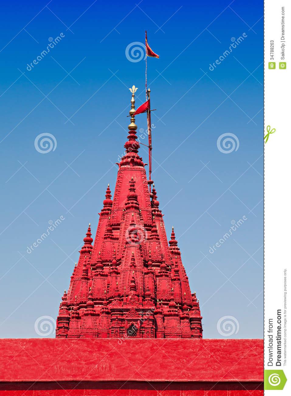 Durga Temple Stock Photos.