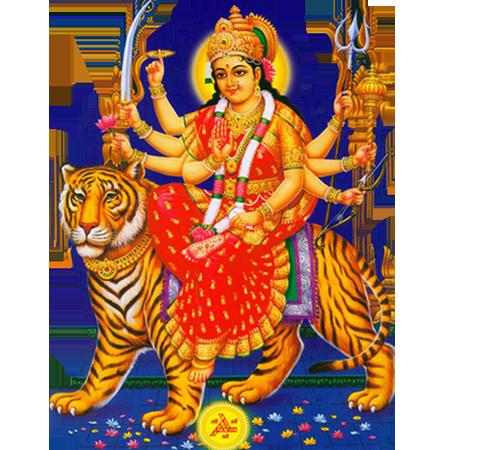 Goddess Durga Maa PNG Transparent Goddess Durga Maa.PNG Images.
