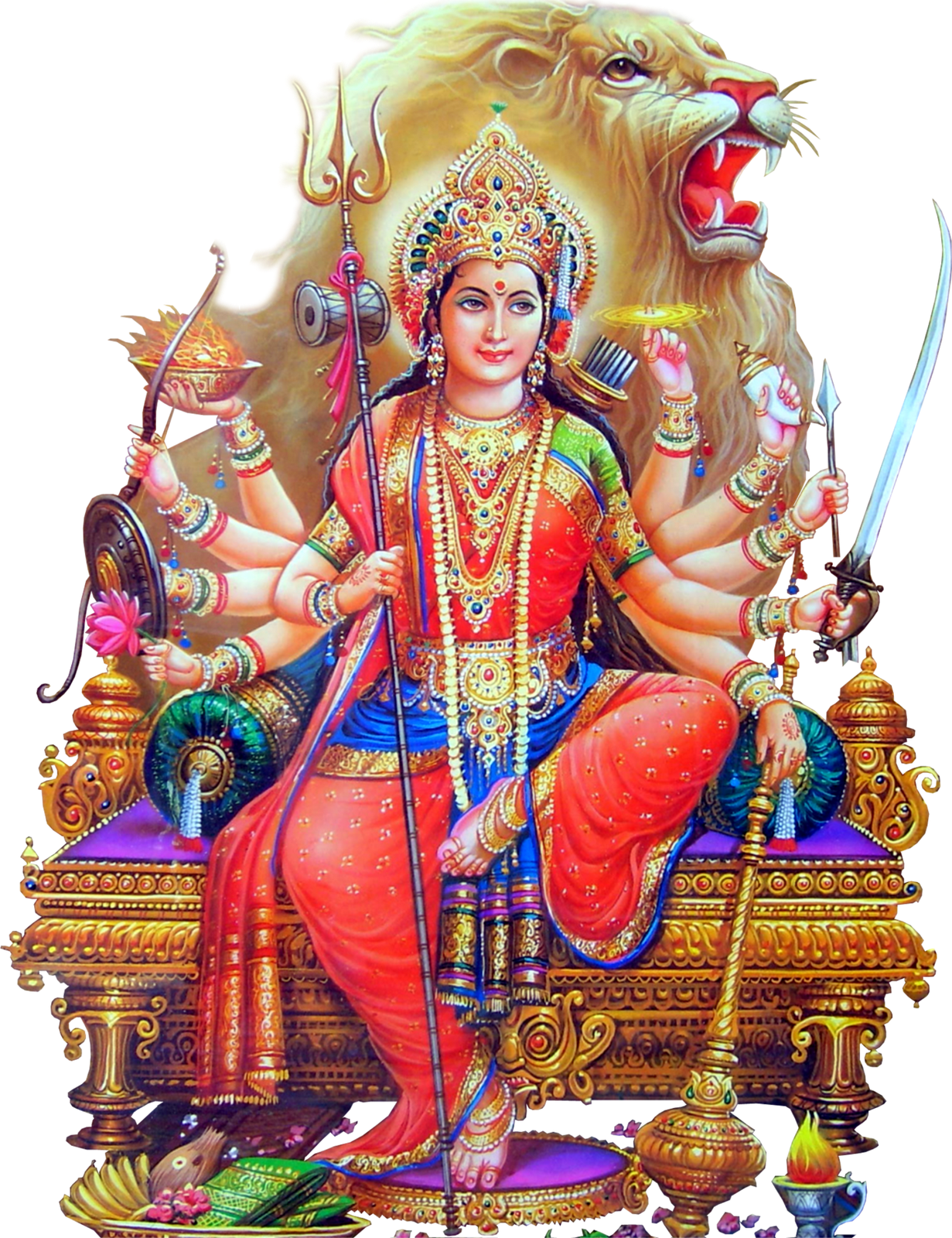 Durga Devi Hd Png, png collections at sccpre.cat.