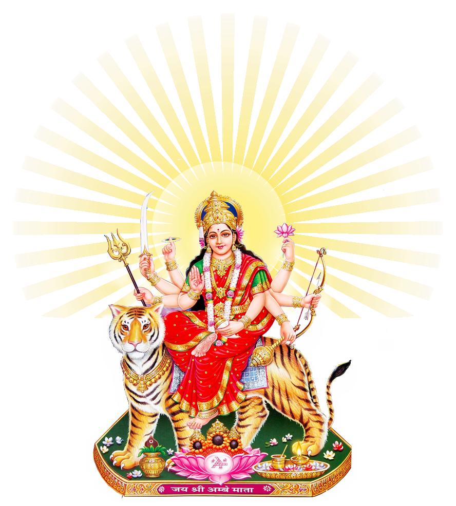 Goddess Durga Maa Png & Free Goddess Durga Maa.png Transparent.