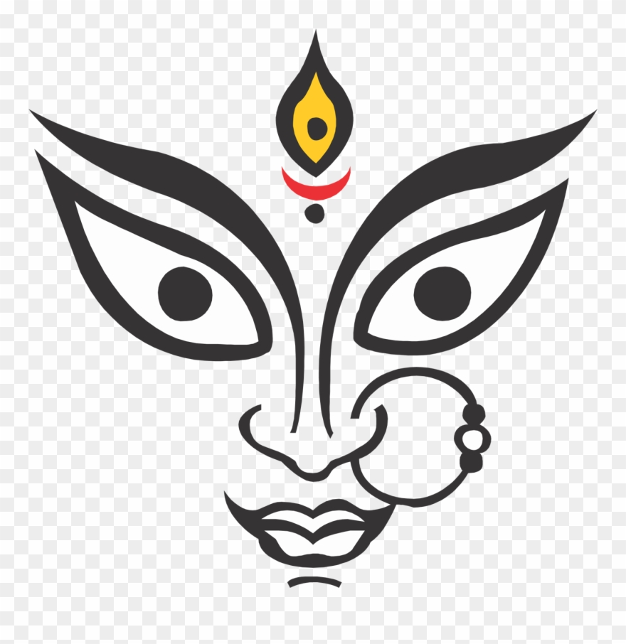 10 Durga Maa Face Hd Images Free Download Clipart (#2638830.