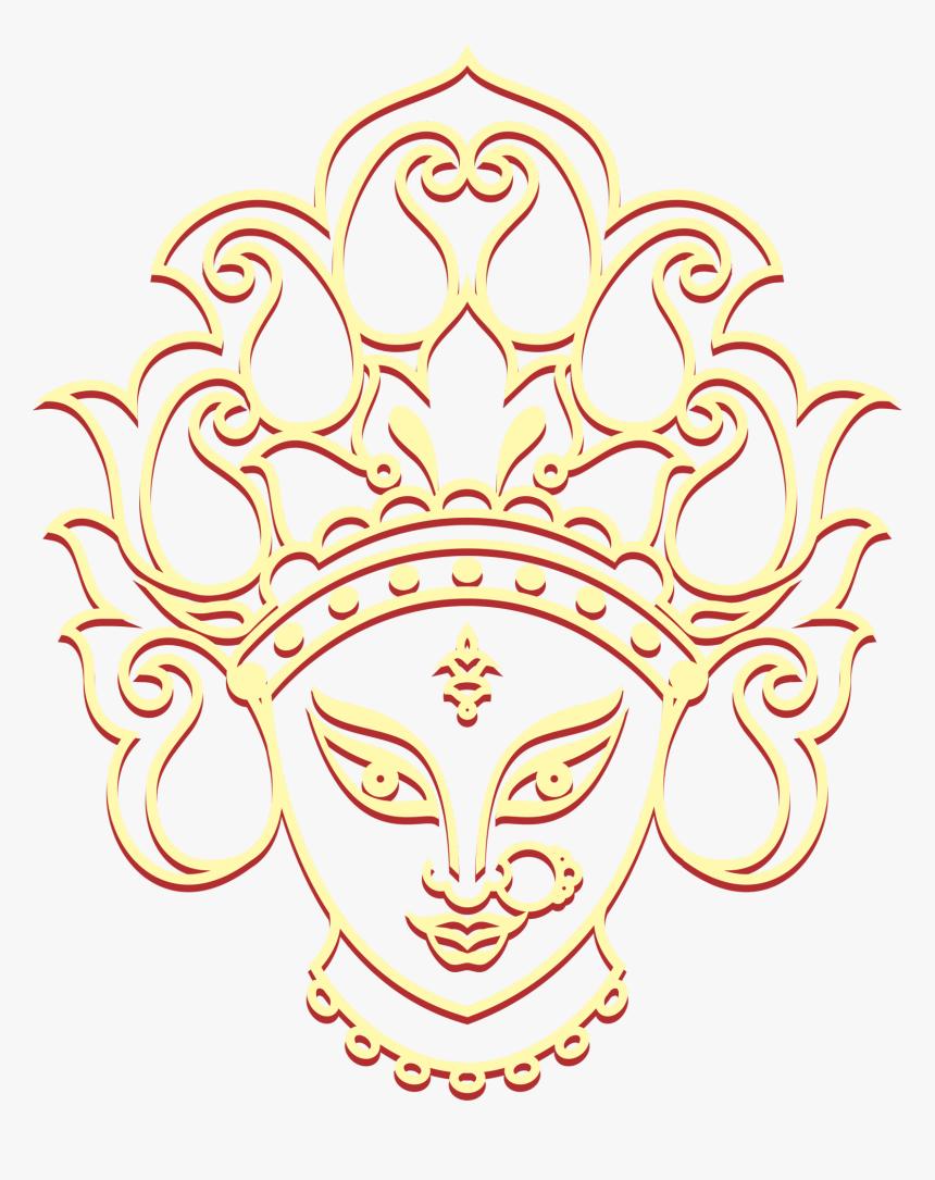 Maa Durga Clip Art, HD Png Download.