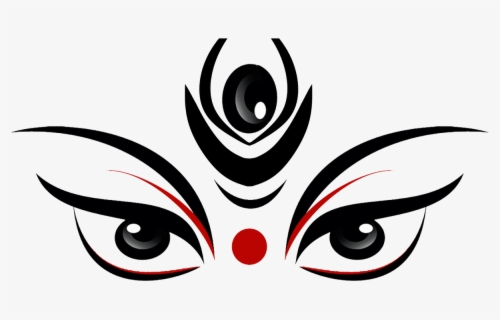 Free Maa Durga Clip Art with No Background.