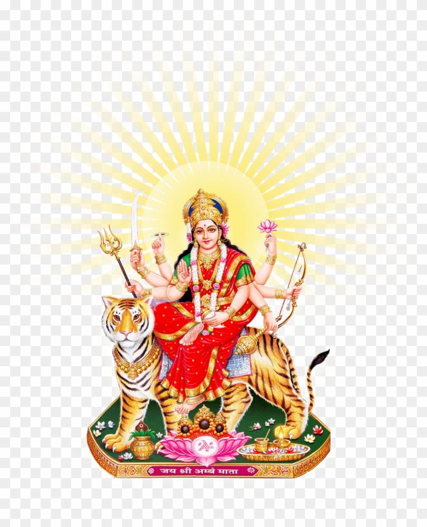 Goddess Durga Maa Sun.
