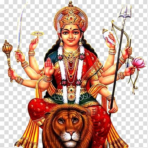Hindu God illustration, Krishna Shiva Ganesha Durga Puja, durga.
