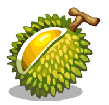 Durian cartoon png 2 » PNG Image.