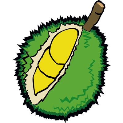 Durian Clipart.