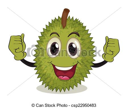 clipart durian #1