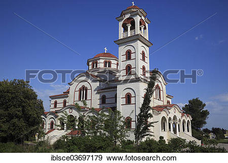 """Stock Photograph of """"Cathedral of Saint Paul and Saint Astius."""