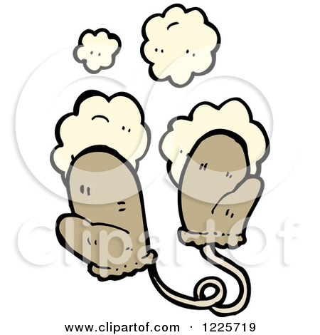 Clipart of Dusty Mittens.
