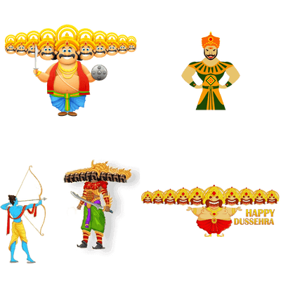 Download DUSSEHRA Free PNG transparent image and clipart.