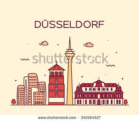 Dusseldorf Stock Vectors, Images & Vector Art.