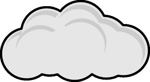 Simple Cloud Clipart.