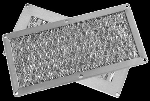 EMC dust filter ventilation panels.