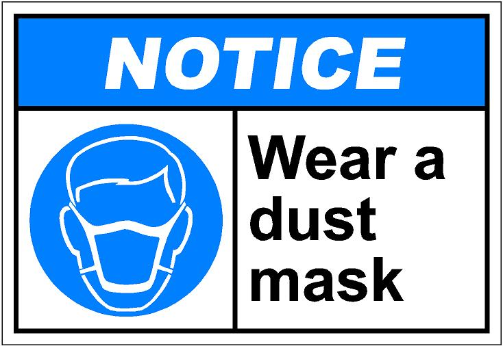 Dust mask clipart.