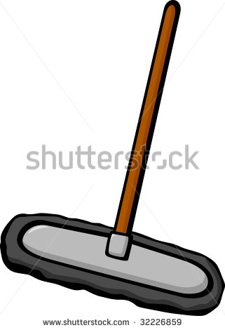 Duster Mop Clipart.
