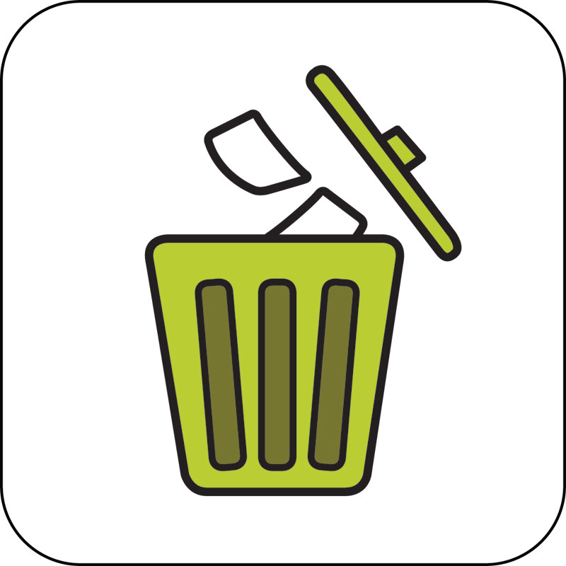 Use Dustbin Images.