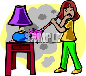 Dust Furniture Clipart.