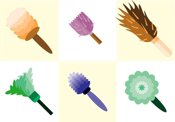 Feather Duster Vector.